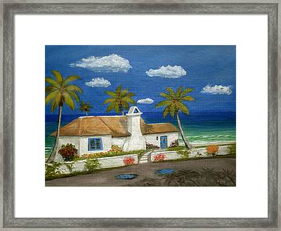 Sandy Point Framed Print