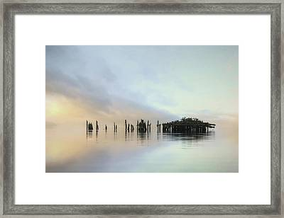 Sandy Point Reflections Framed Print