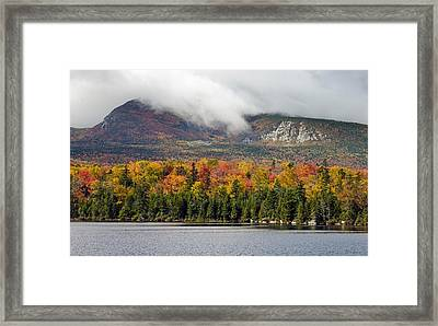 Sandy Stream Pond In Baxter State Park Maine Autumn Framed Print by Brendan Reals