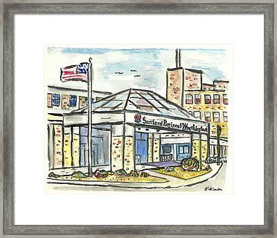 Sanford Regional Worthington Framed Print by Matt Gaudian