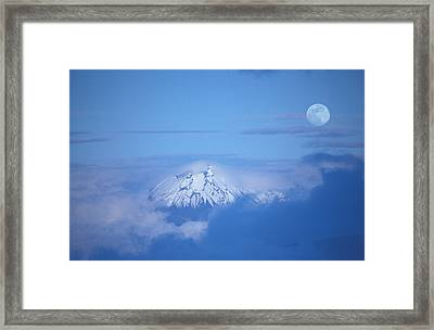 Sangay Volcano Ecuador Framed Print by Panoramic Images