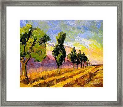 Sangre De Christo Range Framed Print by Charlie Spear