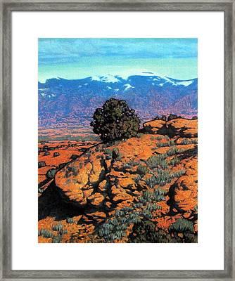 Sangre Dechristos Framed Print