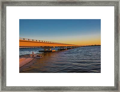 Framed Print featuring the photograph Sanibel Causeway IIi by Steven Ainsworth