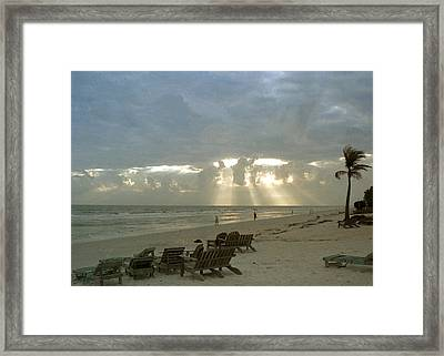Sanibel Island Fl Framed Print