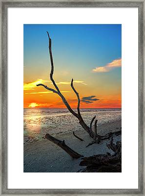 Sanibel Sunrise Framed Print