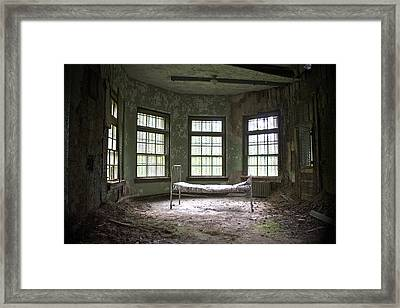 Sanitorium Framed Print by Conor McLaughlin