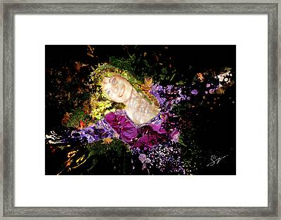 Sanja Dances - Extended Framed Print by Sora Neva