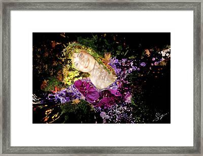 Sanja Dances Framed Print by Sora Neva