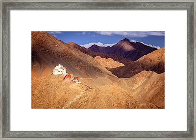 Framed Print featuring the photograph Sankar Monastery by Alexey Stiop