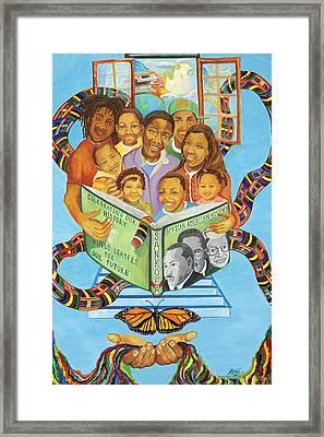 Sankofa Framed Print