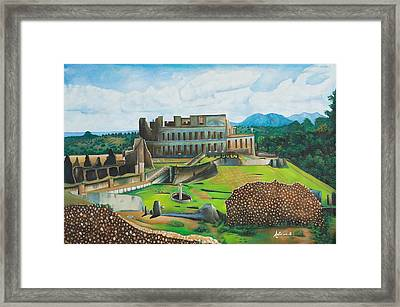 Sanssouci Palace Framed Print by Antoine Belale