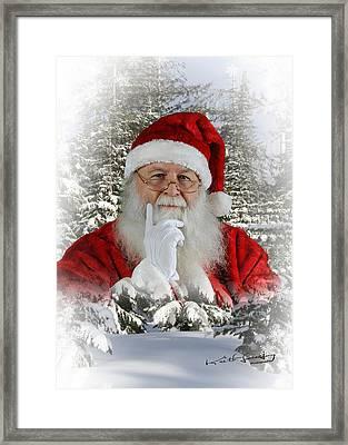 Santa 1 Framed Print