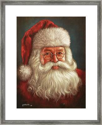 Santa 2017 Framed Print
