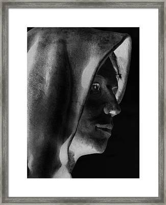 Santa Angela  Framed Print