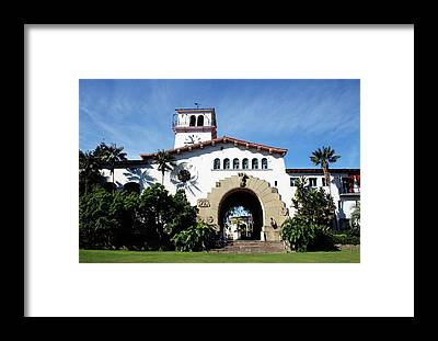 Courthouse Towers Framed Prints