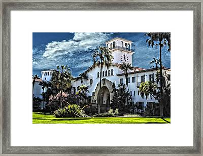 Santa Barbara Courthouse Framed Print