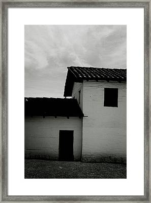 Santa Barbara Presidio 3- Art By Linda Woods Framed Print