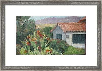 Santa Barbara Views Framed Print