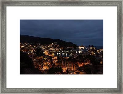 Santa Catalina Island Nightscape Framed Print