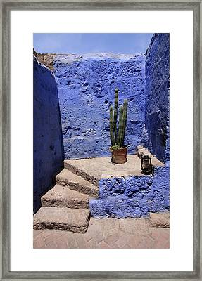 Framed Print featuring the photograph Santa Catalina Monastery by Aidan Moran