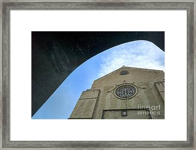 Santa Chiara, Napoli Framed Print by Massimo Lama