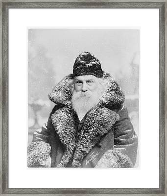 Santa Claus Framed Print by David Bridburg