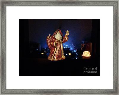 Santa Claus M8 Framed Print