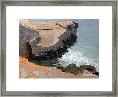 Santa Cruz Bluff Framed Print