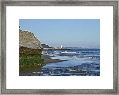 Santa Cruz Coastline - California Framed Print by Brendan Reals
