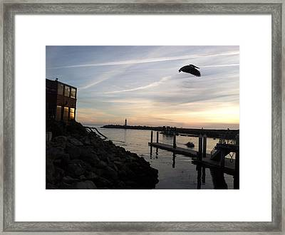 Santa Cruz Evening Framed Print