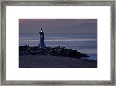 Walton Lighthouse Early Morning Framed Print