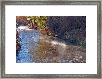 Santa Cruz River - Arizona Framed Print