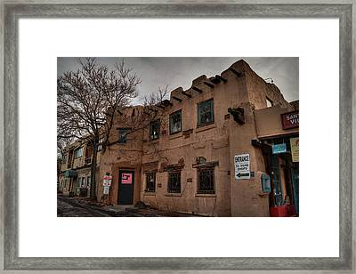 Framed Print featuring the photograph Santa Fe 001 by Lance Vaughn