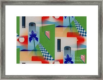 Santa Fe Adobe - #1 Framed Print