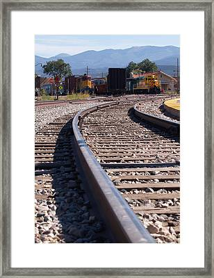 Santa Fe All The Way Framed Print by James Granberry