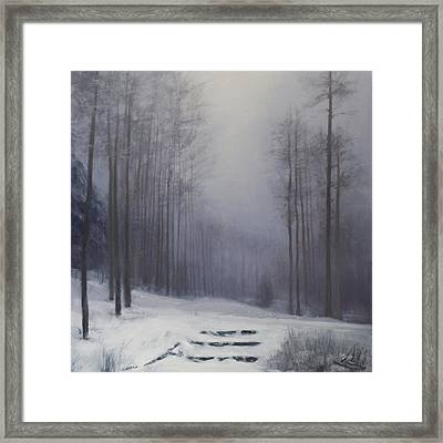 Santa Fe At 10,000 Feet Sold Framed Print