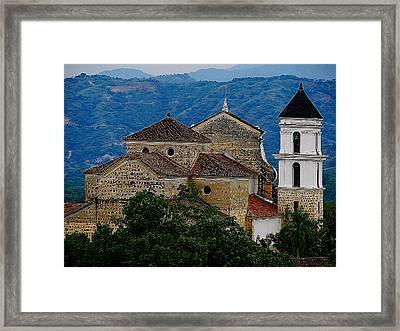Santa Fe Framed Print