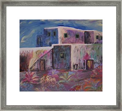 Santa Fe Dreams Framed Print by Lindsay St john