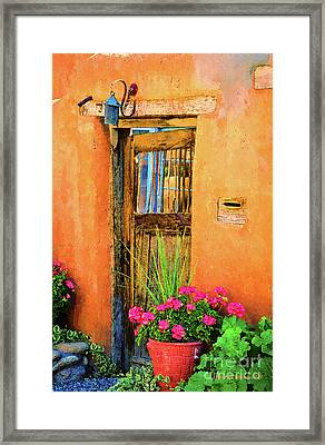 Santa Fe Framed Print by Jerry L Barrett
