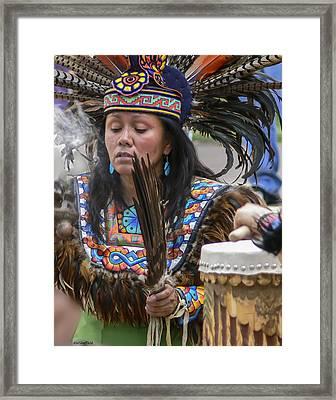 Santa Fe - La Shamana Framed Print