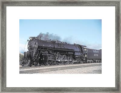 Santa Fe No 3751 Bakersfield California Framed Print