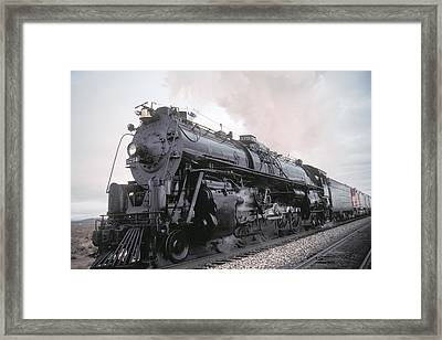 Santa Fe No 3751 North Edwards California Framed Print