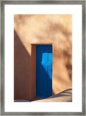 Santa Fe Portal Framed Print by Steve Gadomski