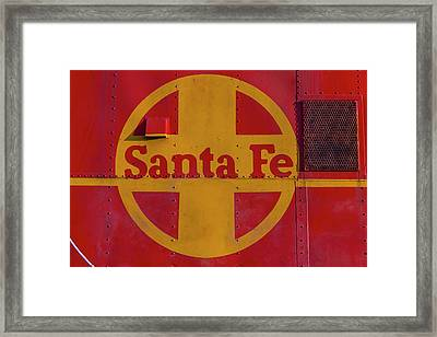 Santa Fe Railroad Framed Print by Garry Gay