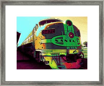 Santa Fe Railroad New Mexico Framed Print