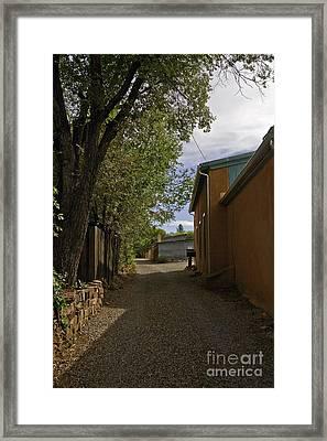 Santa Fe Road Framed Print by Madeline Ellis