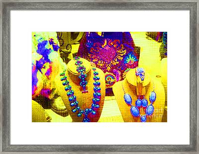 Santa Fe Style Framed Print by Ann Johndro-Collins