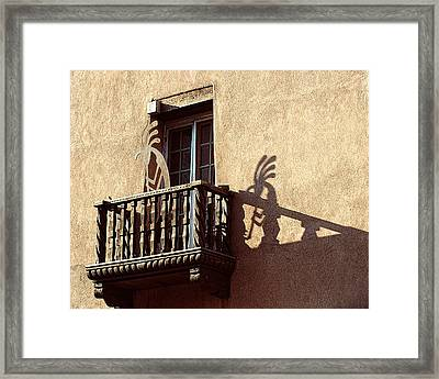 Santa Fe Sunrise Framed Print