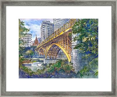 Santa Ifigenia Viaduct Framed Print by Nelson Caramico